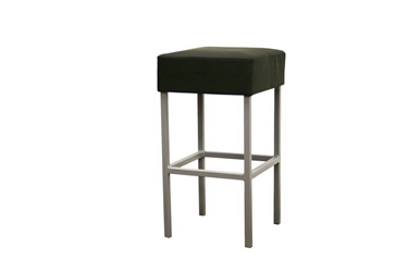 Baxton Studio Andante Black Faux Leather Counter Stool Andante Black Faux Leather Counter Stool, BSBS-320-Black, Baxton Studio Affordable Modern Design