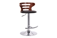 Baxton Studio Buell Walnut and Black Modern Bar Stool Baxton Studio Buell Walnut and Black Modern Bar Stool, BSSD-2019-walnut/black-PSTL, Baxton Studio Affordable Modern Design