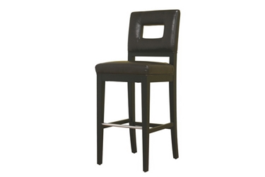 Baxton Studio Faustino Brown Leather Bar Height Bar Stool 30 Faustino Brown Leather Bar Height Bar Stool 30, BSY-780-001-1, Baxton Studio Affordable Modern Design