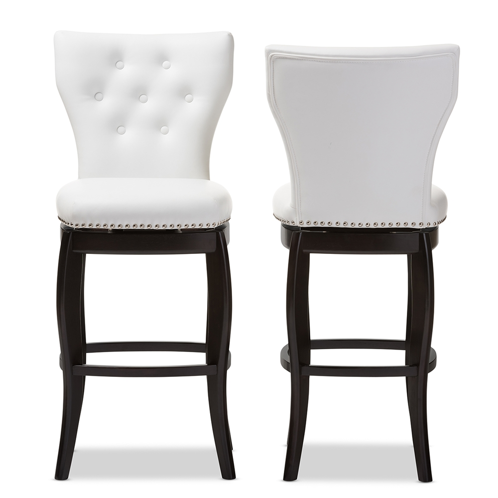 Pepperton Tufted Swivel Counter Stool In 2019: Wholesale Bar Stools