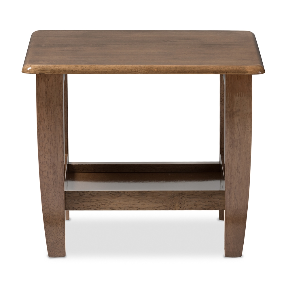 Modern Walnut Living Room Furniture baxton studio | wholesale end tables | wholesale living room