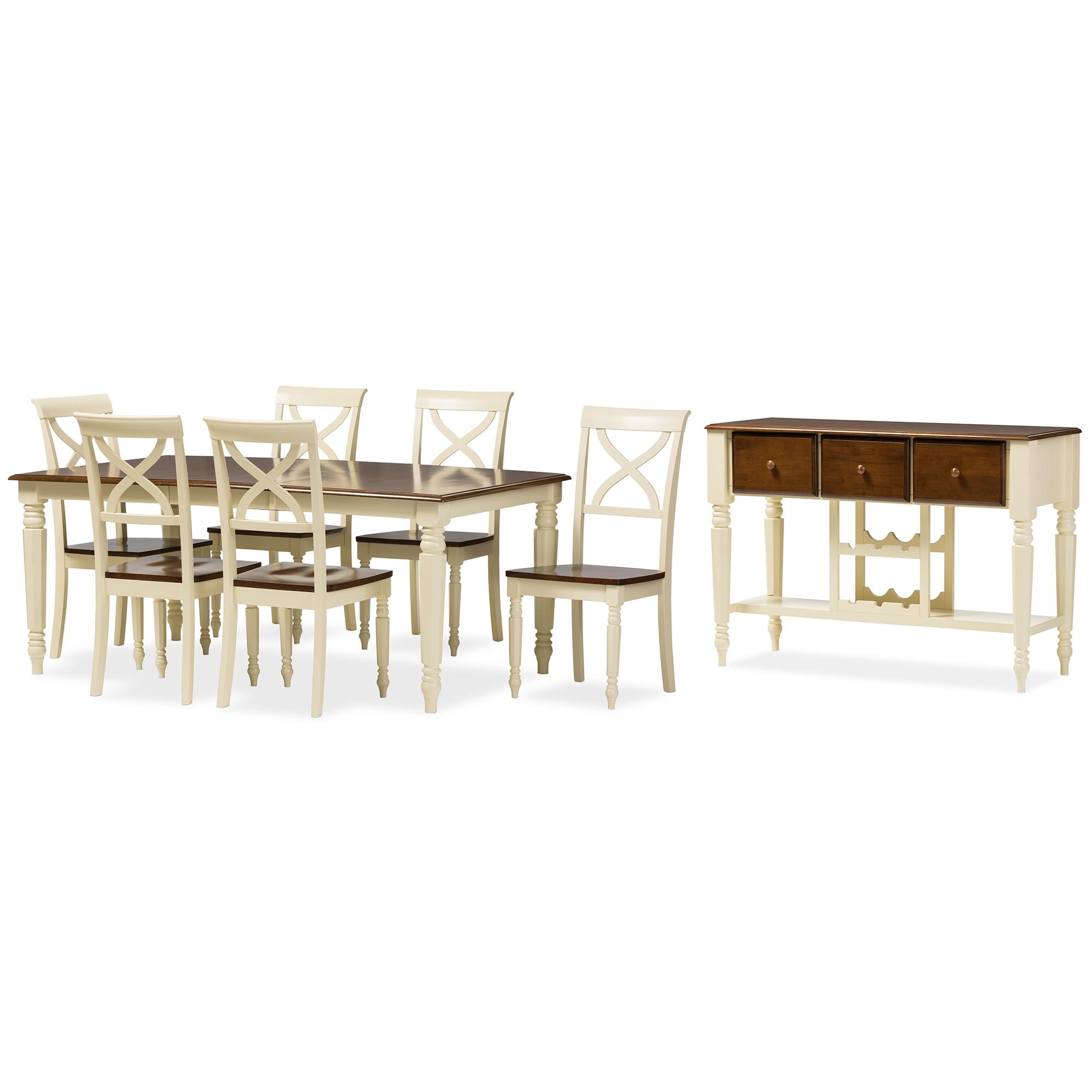 Baxton Studio | Wholesale 8 Piece Sets| Wholesale Dining Room Furniture | Wholesale  Furniture