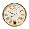 Baxton Studio Alexandre Vintage Style Antique Gold Finished Wall Clock Baxton Studio restaurant furniture, hotel furniture, commercial furniture, wholesale living room furniture, wholesale clocks, classic clocks