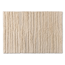 Baxton Studio Delmas Modern and Contemporary Ivory Handwoven Wool Area Rug