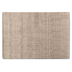Baxton Studio Judian Modern and Contemporary Ivory Handwoven Wool Area Rug