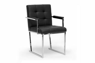 modern furniture chairs. Baxton Studio Collins Black Mid-Century Modern Accent Chair Mid- Furniture Chairs