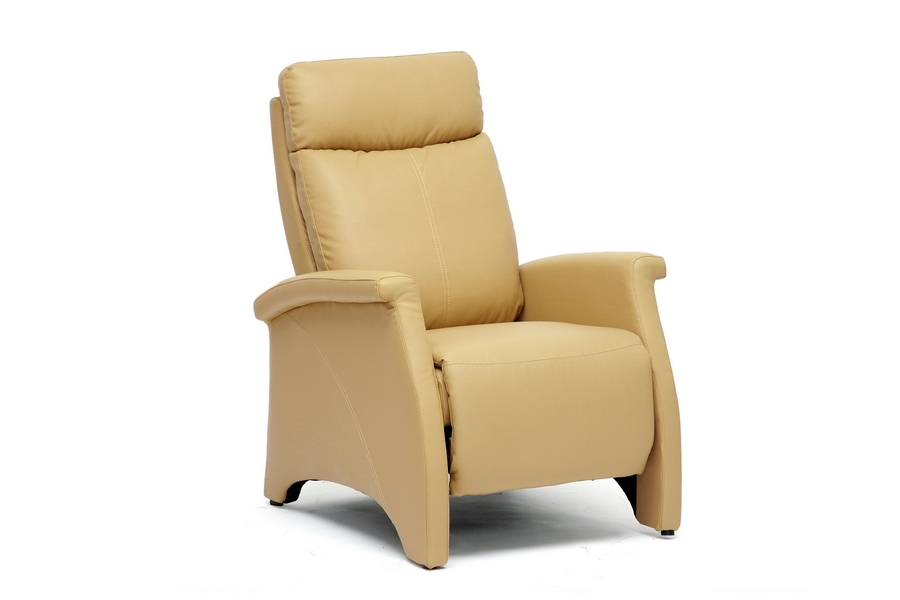 Baxton Studio Sequim Tan Modern Recliner Club Chair Baxton Studio Sequim Tan Modern Recliner Club Chair, Baxton Studio Affordable Modern Furniture