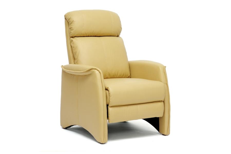 Baxton Studio Aberfeld Tan Modern Recliner Club Chair Baxton Studio  Aberfeld Tan Modern Recliner Club Chair