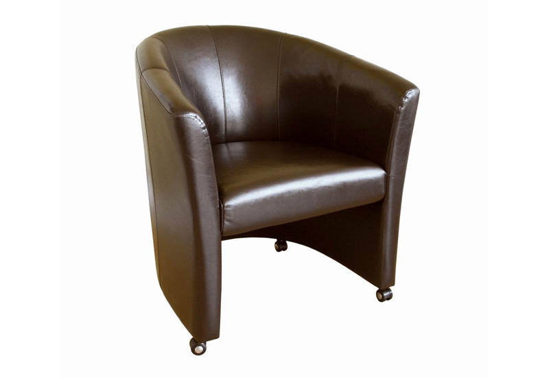 Carnegie Leather Club Chair