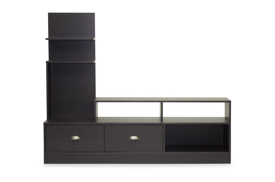 Armstrong Dark Brown Modern Tv Stand Affordable Modern Design