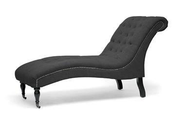 baxton studio amelia gray linen victorian chaise lounge baxton studio amelia gray linen victorian chaise lounge baxton studio lounge chair