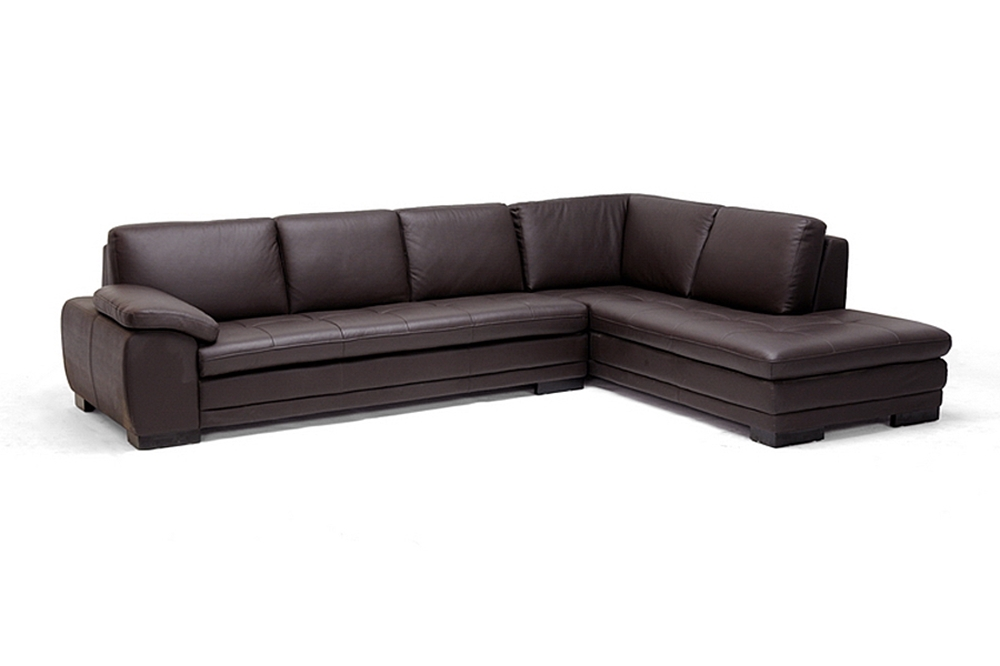 Admirable Brown Leather Sofa Sectional With Chaise Affordable Modern Unemploymentrelief Wooden Chair Designs For Living Room Unemploymentrelieforg