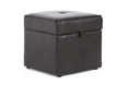 Baxton Studio Sydney Brown Modern Ottoman - Storage Ottoman Sydney Brown Modern Ottoman - Storage Ottoman , BSXB-01-dark brown, Baxton Studio Affordable Modern Design
