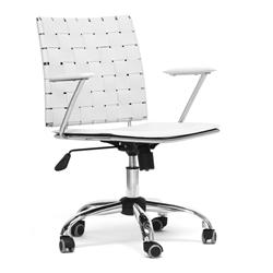 white unique office chairs. baxton studio vittoria white leather modern office chair unique chairs f