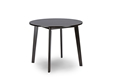 Baxton Studio Debbie Mid-Century Dark Brown Wood Round Dining TableOne (1) Dining Table Dining Tables/Dark Brown/ Mid-Century/Wood/Round