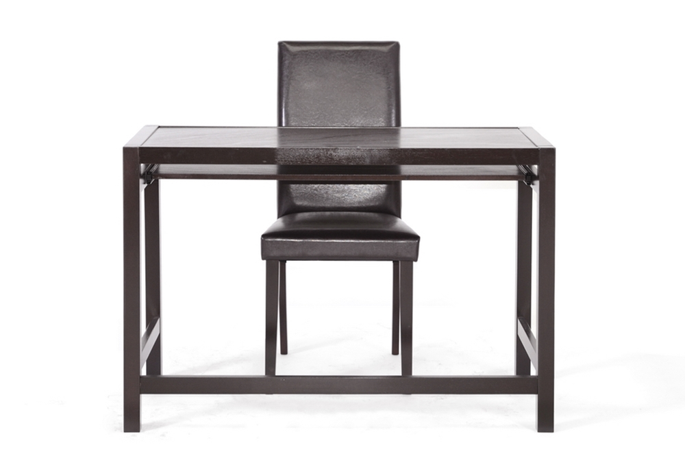 baxton studio astoria dark brown modern desk and chair set baxton studio astoria dark brown modern