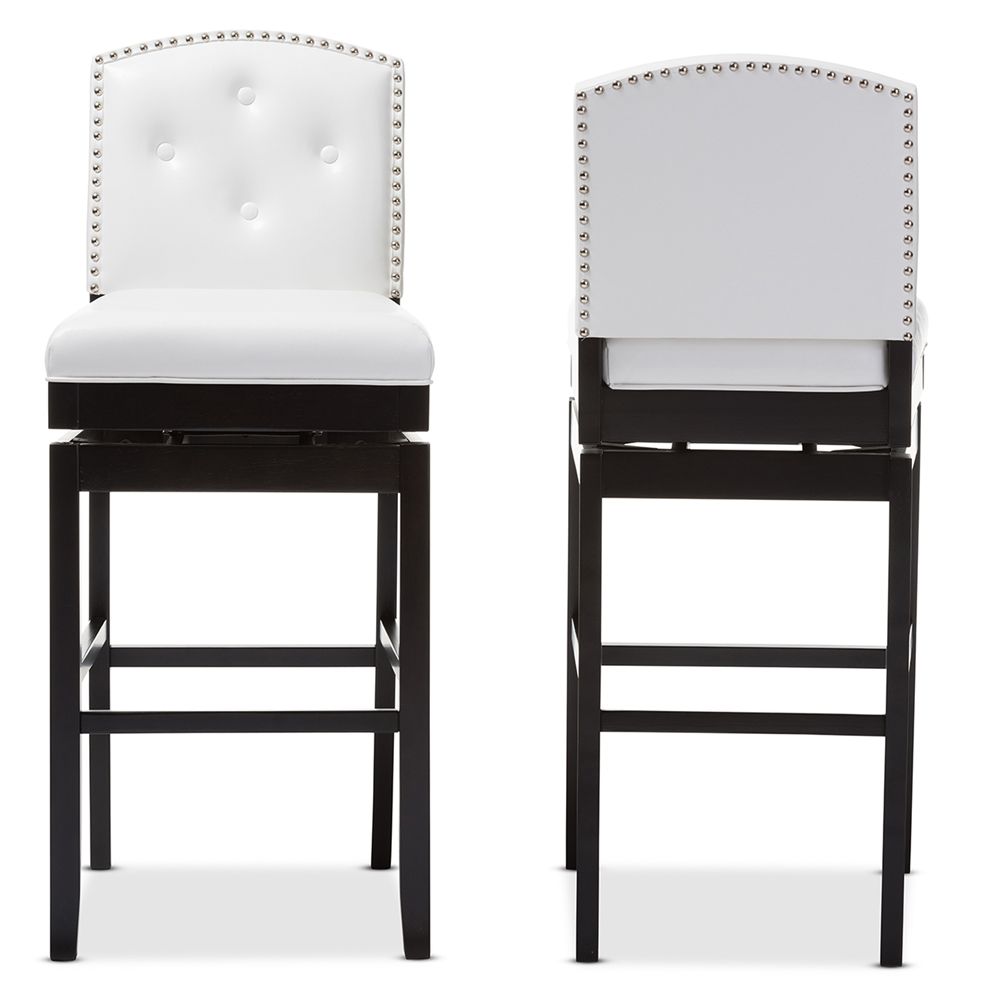 white swivel bar stools Baxton Studio | Wholesale Bar Stools | Wholesale Bar Furniture  white swivel bar stools